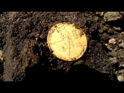 Dukát Vilém I 1814 Nokta Velox one Metal detecting gold coin