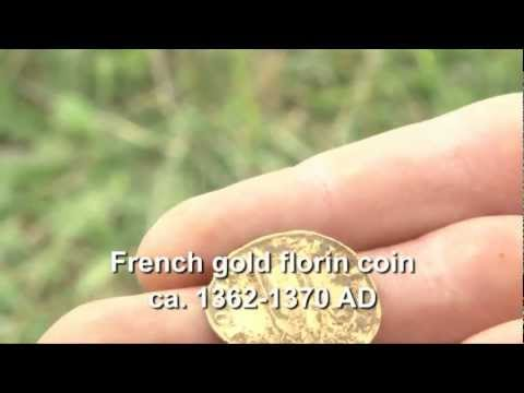 1300s Gold Coin Found with Euro ACE