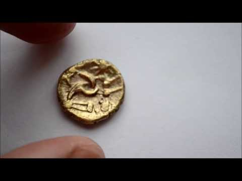 Metal Detecting UK Etrac. First Ever Gold